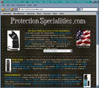 Protection Specialities .com